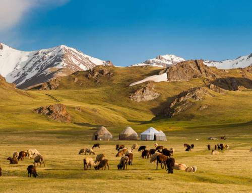 A experiência no Quirguistão