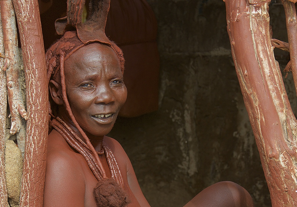 Mulher Himba Namíbia
