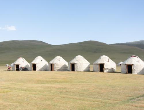 Um dia no Quirguistão