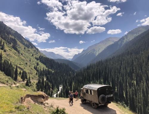 Porque o Quirguistão foi eleito o melhor Destino emergente